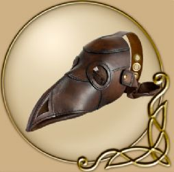 LARP Plague doctor mask